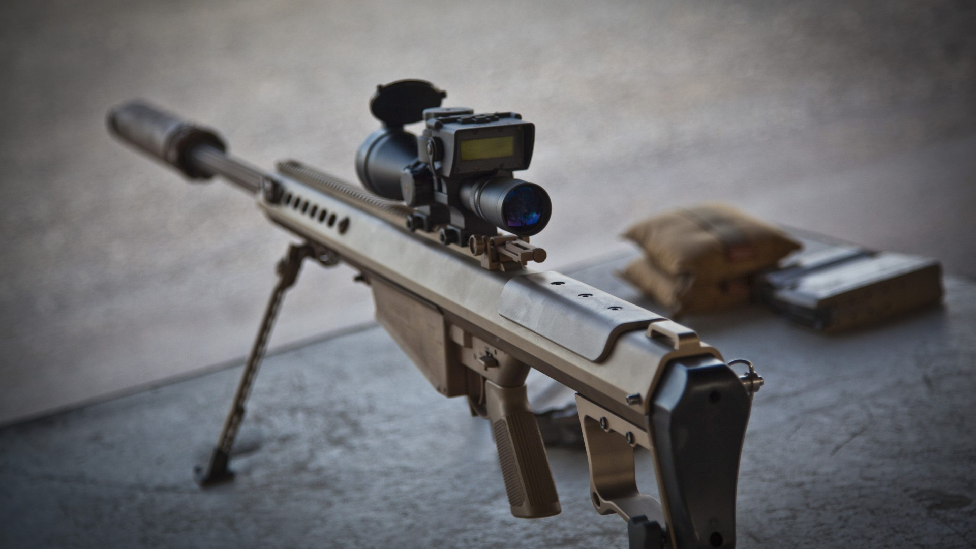 m107 sniper rifle - photo #14