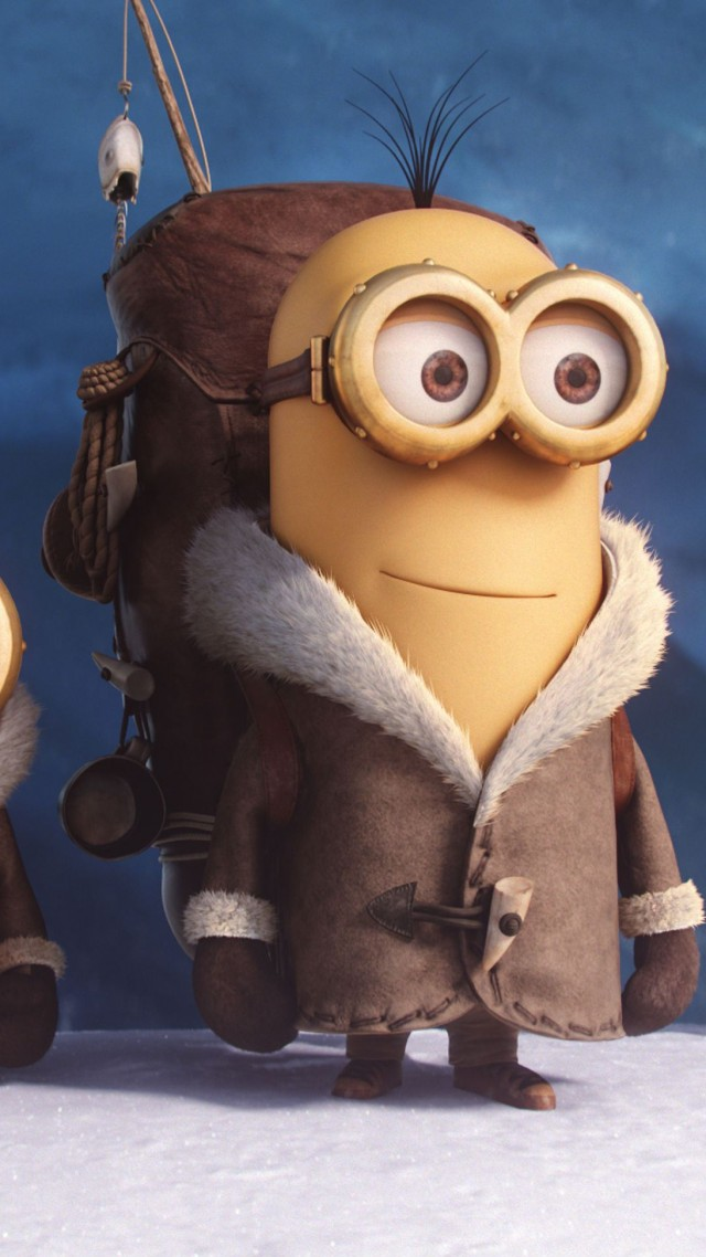 Wallpaper Minions Cartoon Yellow Funny Best Animation